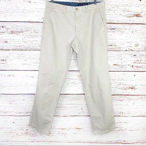 Men's GAP straight fit khaki chino 34 x 32